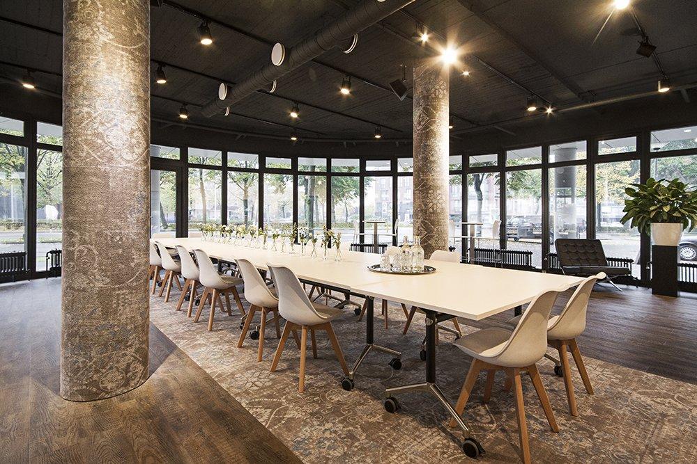 Business Lounge Boardroomopstelling