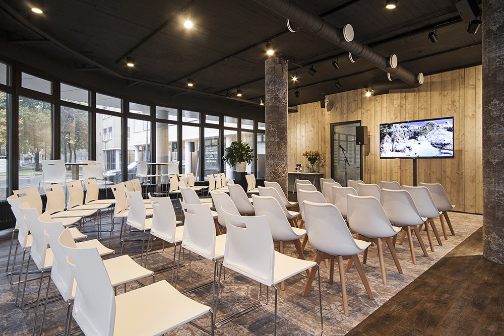 Business Lounge Theateropstelling
